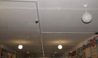 Купольная и корпусная камеры Spezvision, кабель-канал