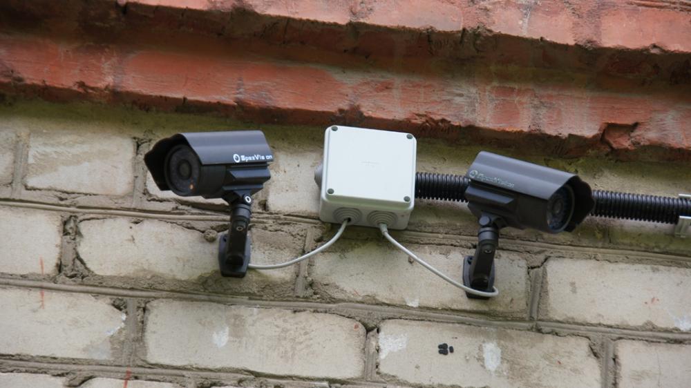 Видеонаблюдение на складе и производстве в Курске