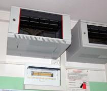 Настенные серверные шкафы, электрический щиток